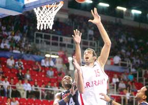Iran basketball becomes runner-up in West Asia